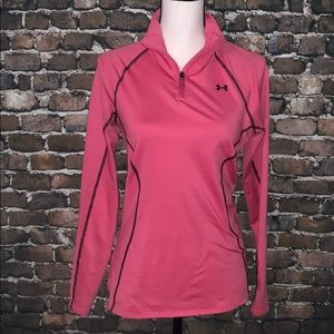 Under Armour UA long sleeve cold gear pink S